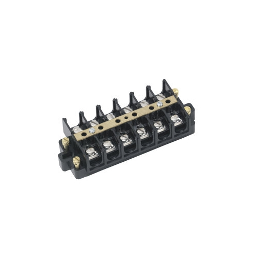 Terminal Strip,Ideal,CSA,UL Listed,Wire SZ: 22 - 6 AWG,Spacing: 0.625 IN,60 AMP