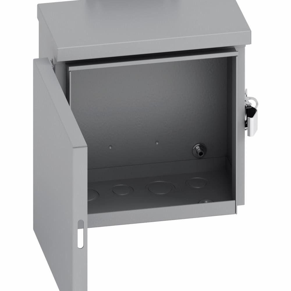 Enclosures Racks Cabinets Nema Type 3r Summit Wiring Trough Enclosure 12 X 6 Inch Depth Steel