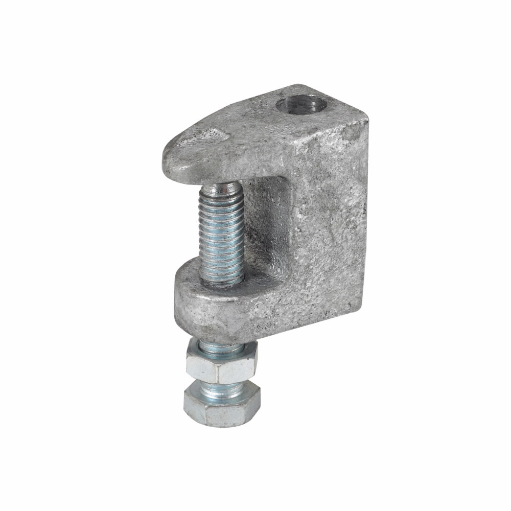 B3033-3/8-HDG B-LINE WIDE JAW TOP FLANGE C-CLAMP
