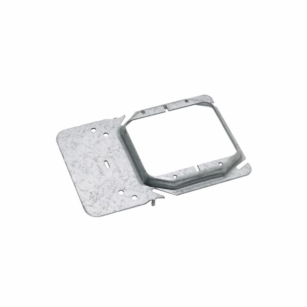 B-Line Series BB45-10 2-Gang Uni-Mount Box Support Cover Plate Mounting Bracket