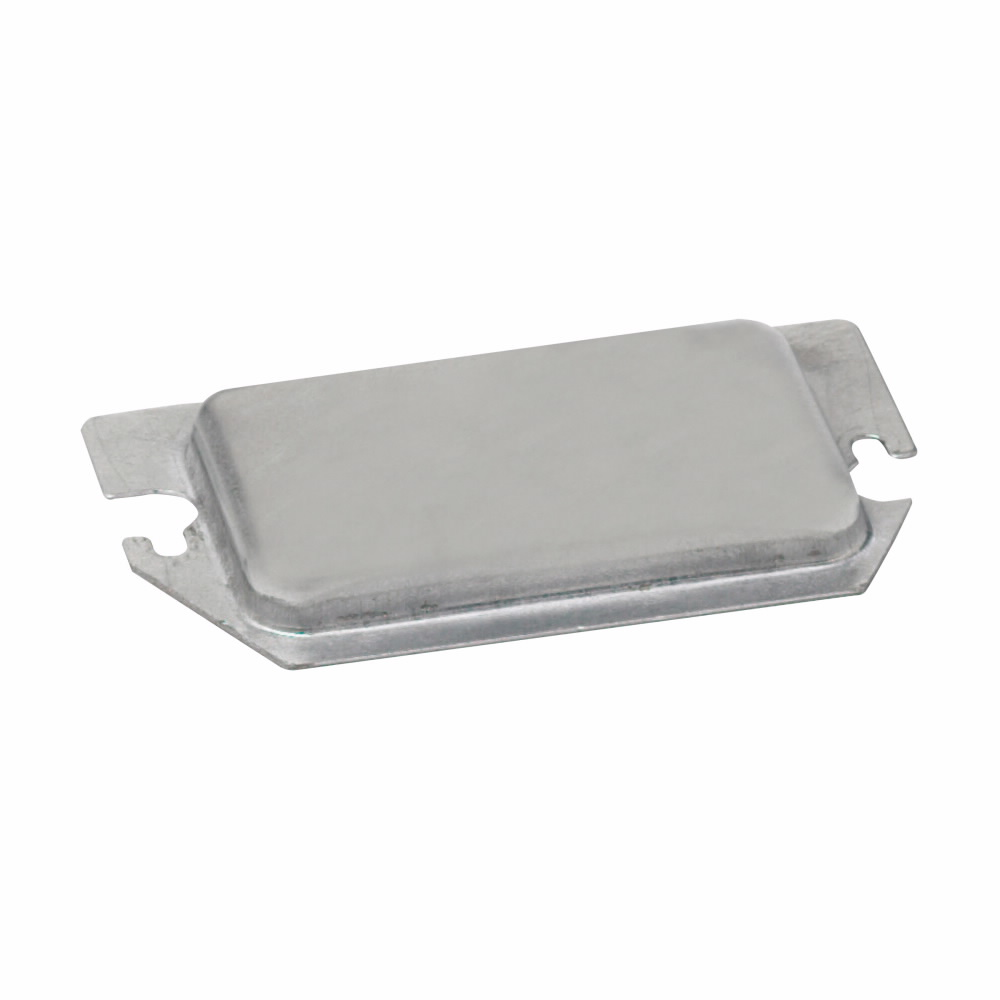 METAL PROTECTOR PLATE FOR TWO DEVICE RECEPTACLE & GFCI