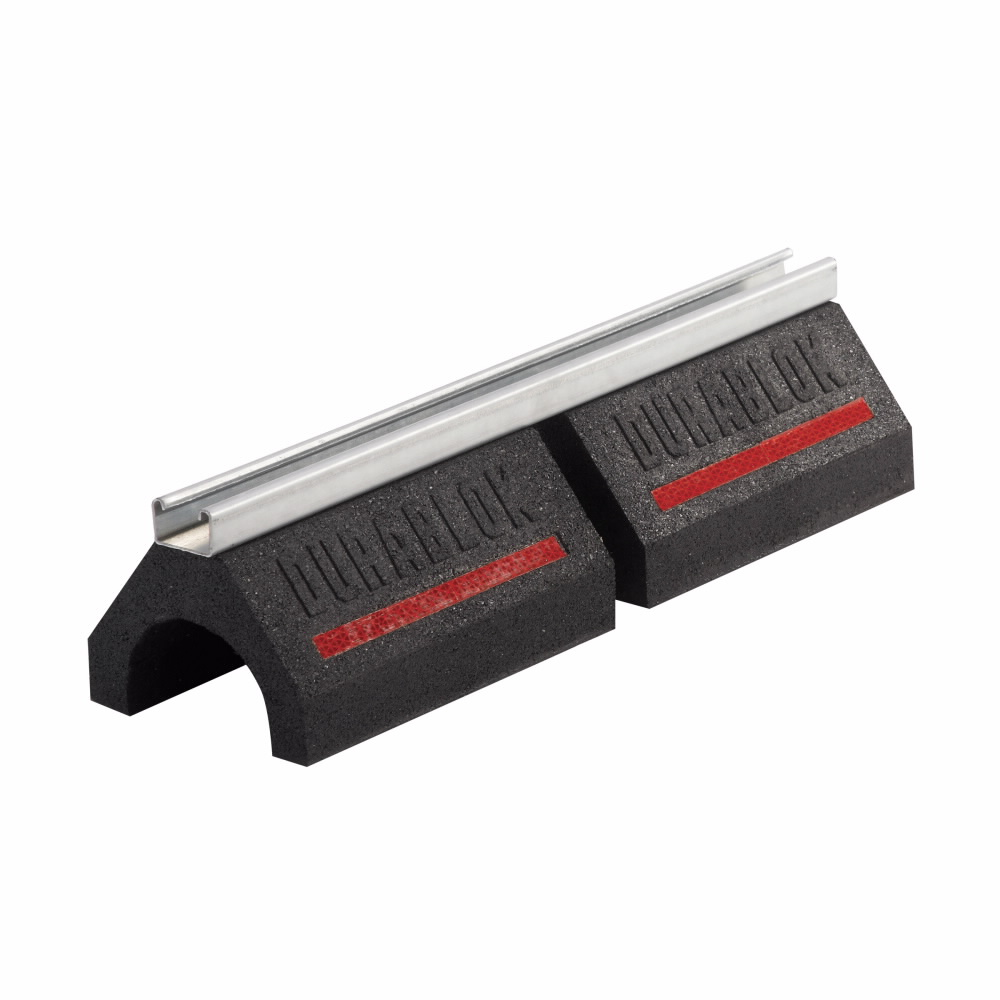 B-Line Series DB20 20.2 x 6 x 5 Inch Rubber Rooftop Support Channel Base
