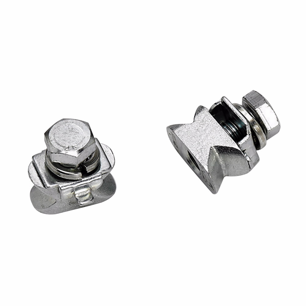 4DDN228ZN B-LINE 4D DOVETAIL CONNECTOR, DUAL DOVETAIL NUT, 3/8-IN.-16 THREAD, ZINC PLATED 79903858324