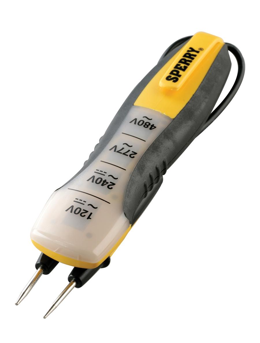 4-Range Voltage Tester 80-480 VAC/DC