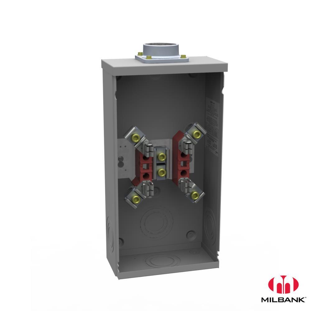 Milbank,U4517-DL-M4,200A 4T RT OU 21015