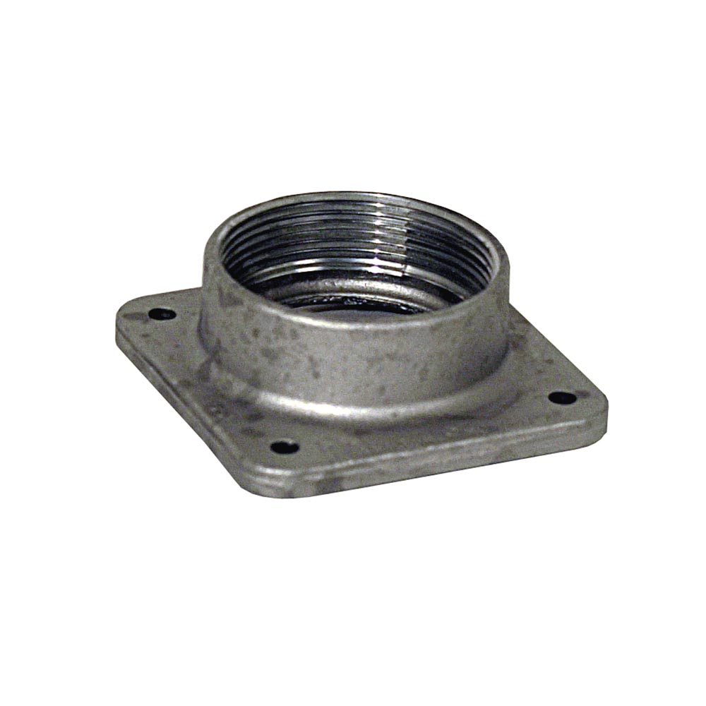 Milbank,A7517,Milbank® A7517 Meter Socket Hub, 2 in NPT, For Use With Small RL Opening Meter Socket, Aluminum, Painted