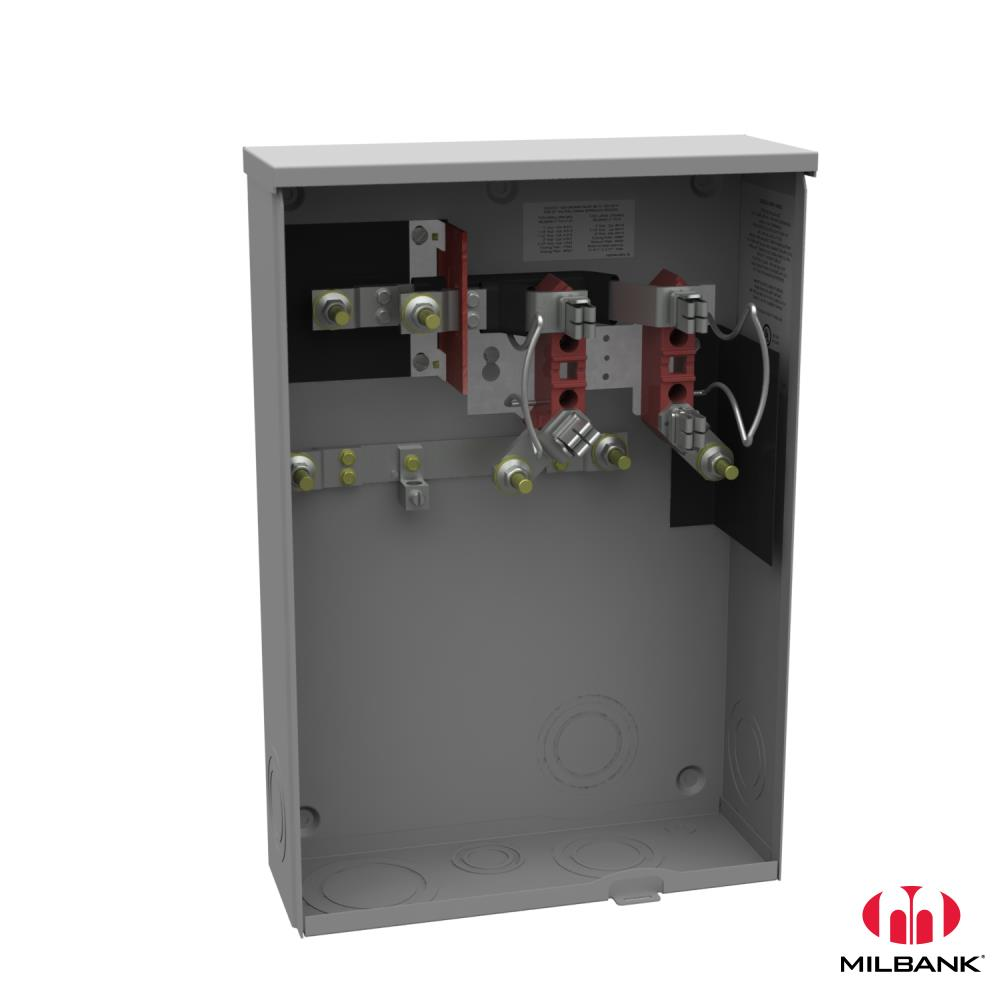 MIM U2986-O-PEP 200A 4T RL SWY SKT APPROVED FOR PEPCO - UNDERGROUND ONLY