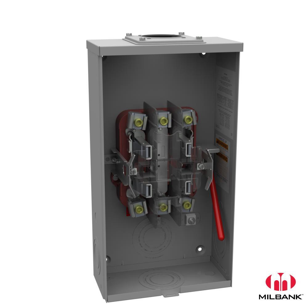 MILBANK U9800-RRL-QG SOCKET (**)