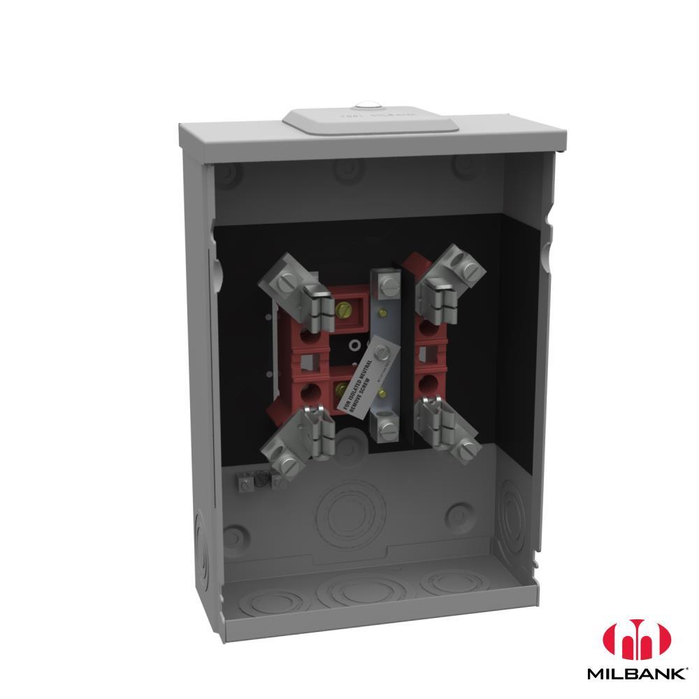 Milbank,U5929-XL-INS,125A 5T RT MISC 62928