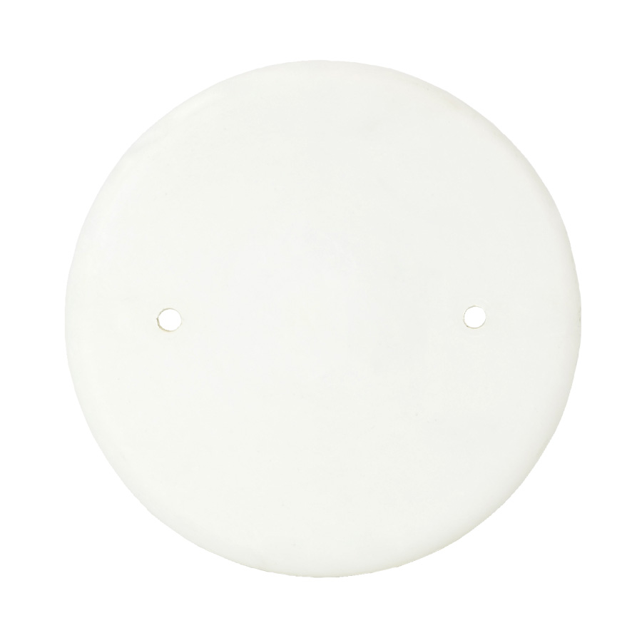 Allied Moulded,9315,Allied Moulded 9315 Blank Cover, 4.7 in Dia, 4-3/4 in W x 3/8 in D, Polyester BMC