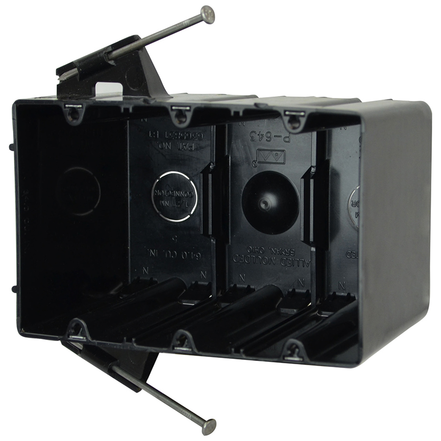 Allied Moulded,P-643QT,63 CI 3G DVC BOX NAILS QT DVC THD KLMPS