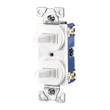 Cooper Wiring Devices,275LA-BOX,Cooper Wiring Arrow Hart 275LA-BOX 3-Way Toggle Combination Switch, 15 A 120 VAC, 1 Poles