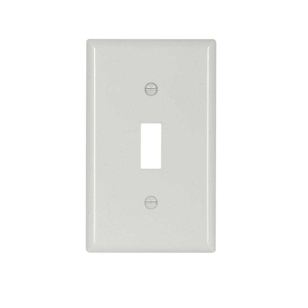 EWD 4134W-BOX Wallplate 1G Toggle T