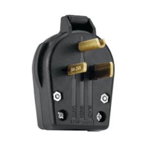 AH 5710N 50a 250v 2p 3w Grounding Plug NEMA 6-50P
