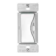 Cooper Wiring Devices,9573WS,Crouse-Hinds ASPIRE® 9573WS Dimmer Switch, 120 V, 1 Poles, White Satin