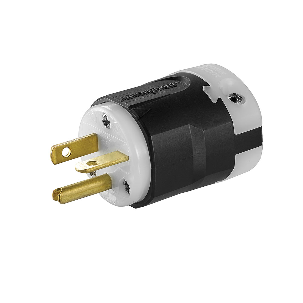 AH AH5366 20a 125v 2P 3w Cord Plug NEMA5-20 cs=10