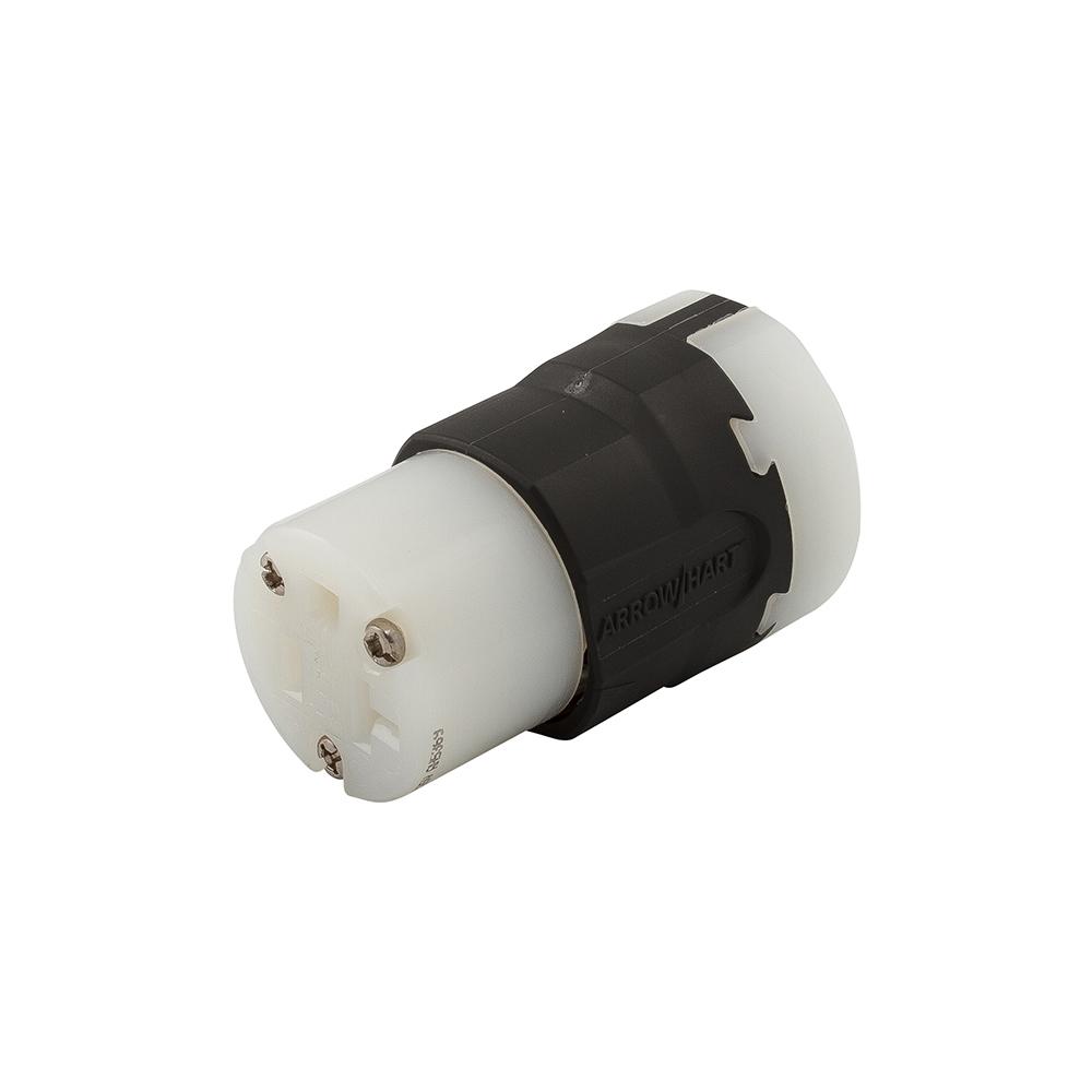 AH AH5369 Cord Conn 20A 125V 2P3W Str BW cs=10