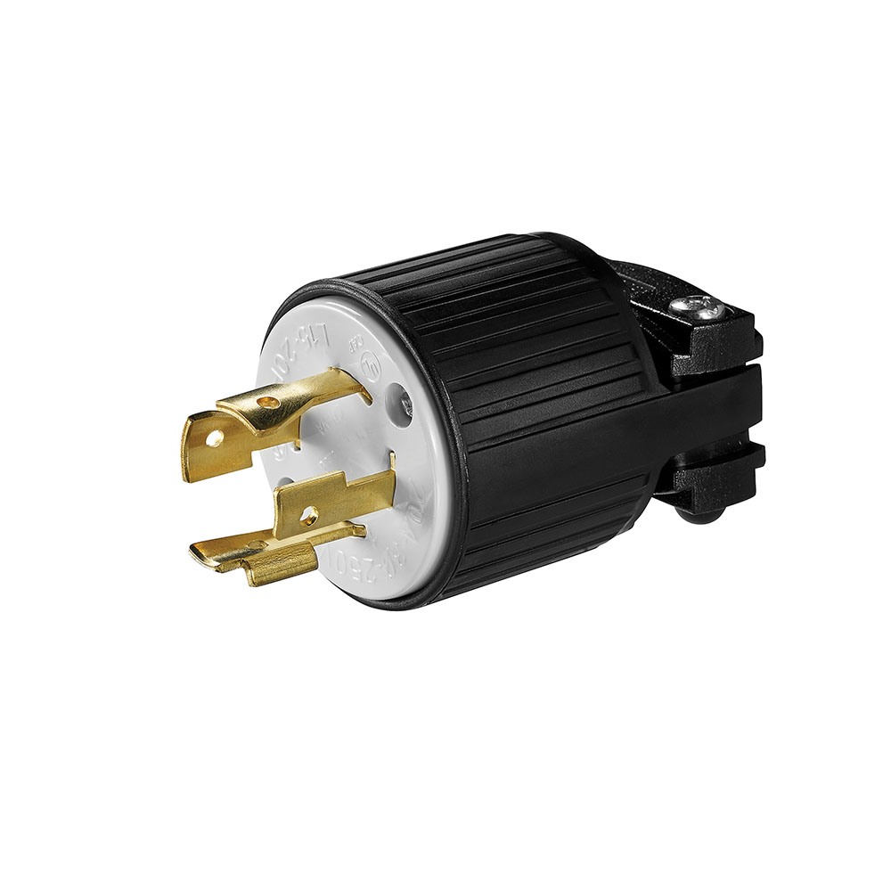 Wire Devices Locking Device Plug Dominion Electric Wiring A L1430p Ah Ahl1520p H L 3p4w 20a 250 3ph Blkwht Formerly Cwl1520p