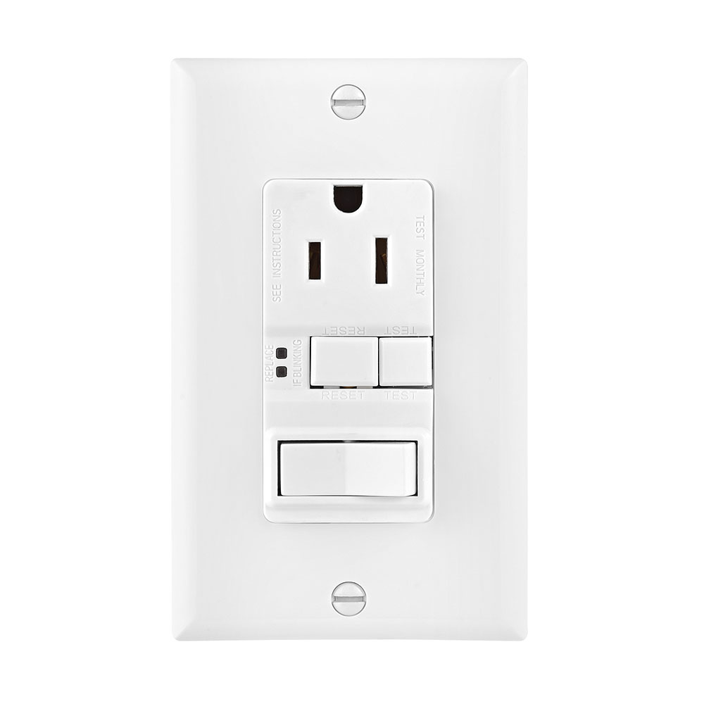 Cooper Wiring Devices SGFS15W-MSP   North Coast Electric