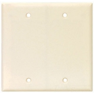 2137LA-BOX CWD 2G BLNK WALLPLATE