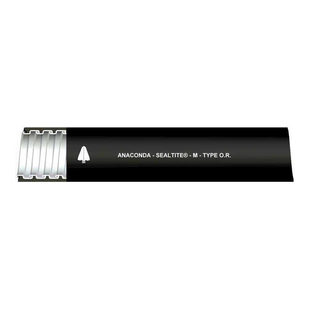 OR-BLK-3/4-100FT FLEXIBLE CONDUITTYPE OR OIL RESISTANT ANAMET