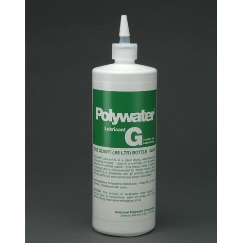 American Polywater,G-35,Qt Sqz Bottle Polywater Lubricant G