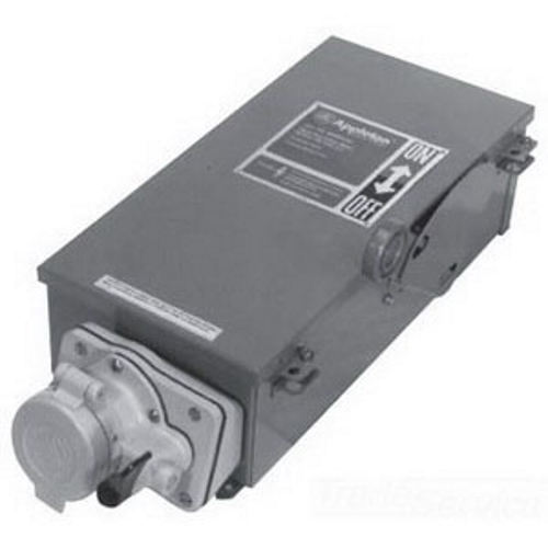 WELDING RECEPTACLE 60A FUSED