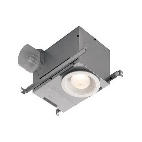NUT 744NT 70CFM 15 SONES 6IN WHITE TRIM RECESSED FAN LIGHT