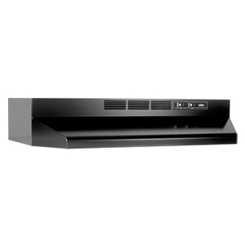 BRO413023 RANGE HOOD, BROAN, TWO-SPEED, NON-DUCTED, STAINLESS STL HSG, POLYMERIC BLD, BROAN/NUTONE