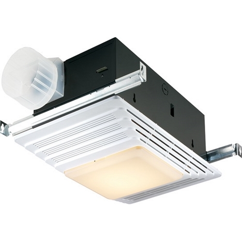Heater/Fan/Light,Broan,70 CFM,120 V,12.8 AMP,1536 WTT,4.0 Sones