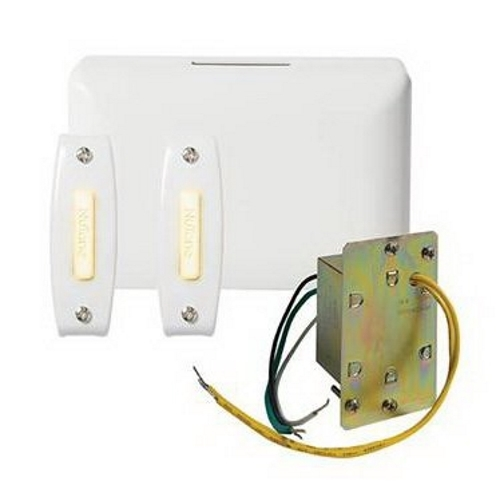 Nutone BK142LWH Wired Chime Kit; White