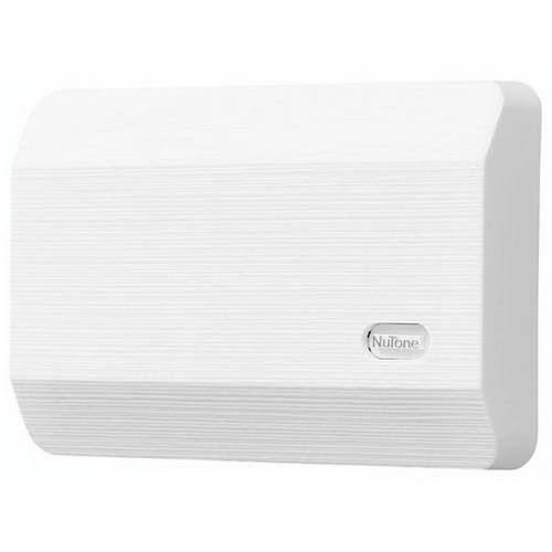 NuTone LA11WH Decorative Wired Two-Note Door Chime, White Textured Finish