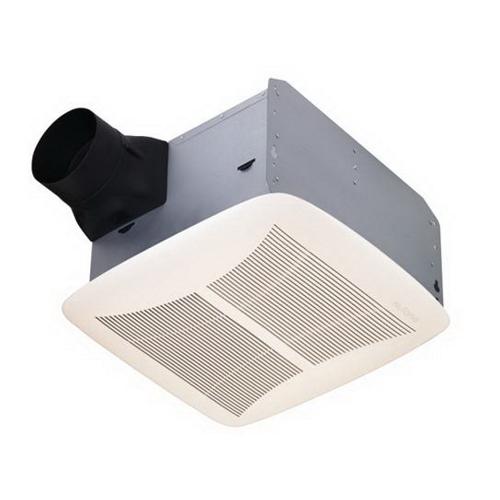 NuTone QTRN110 Ultra Silent Bath Fan;  White Grille, 110 CFM
