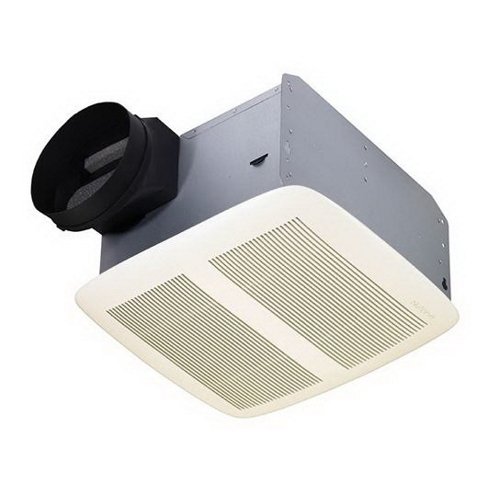 Exhaust Fan,Nutone,QTXEN Series,80 CFM,13 IN X 14 IN Grille