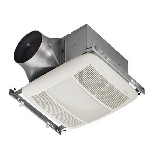 30 CFM to 80 CFM, <0.3 Sones, Energy Star Fan with 36W Fluorescent Light (2-18 watt GU24 bulbs included) and 4W Night Light (bulb not included)