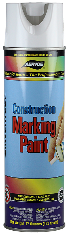 255 DOTTIE CONSTRUCTION MARKING PAINT - WHITE