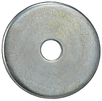 ECHO 1416WF-PACK(100)S ECHO 1/4X1 FENDER WASHERS ZINC PLATED