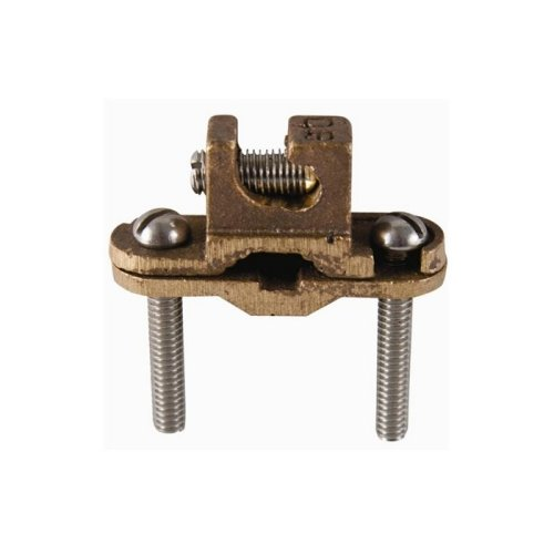 Dottie DLI25 Direct Burial Ground Clamp with Lay-In Featuer, Bronze