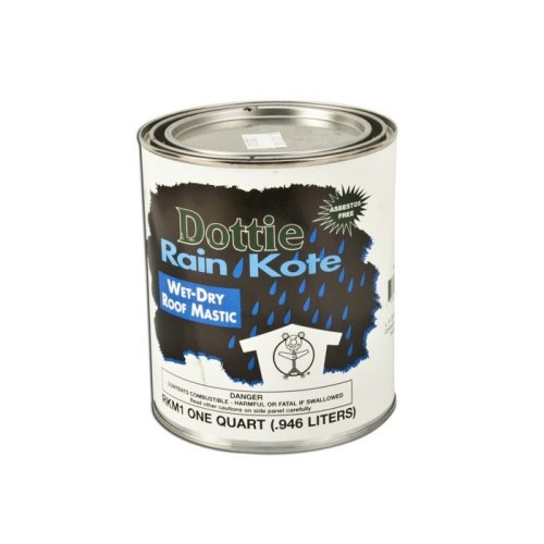 Dottie RKM4 1 GALLON ROOF MASTIC AS