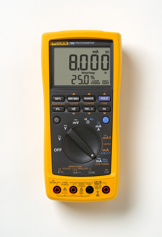Fluke FLUKE-789 1000 VAC/VDC 30 mA Process Meter