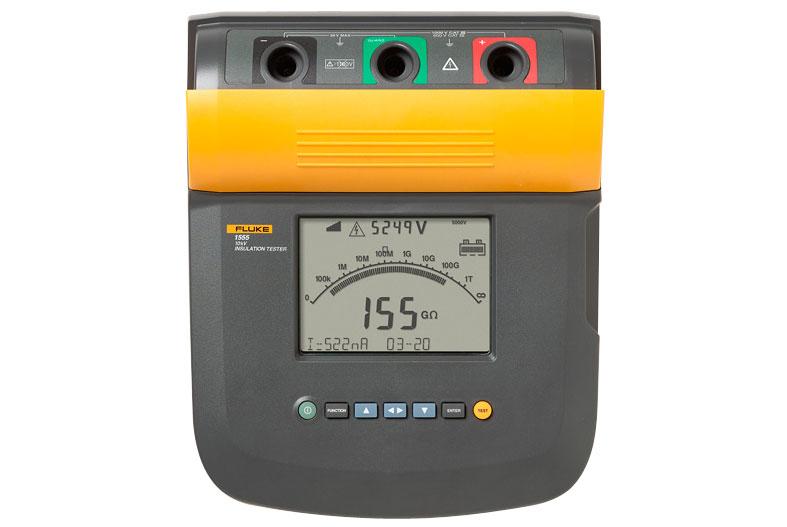 Fluke,TLK1550-RTLC,Fluke® TLK1550-RTLC Test Lead Set, For Use With 1550X, 1555 Insulation Testers, Black/Green/Red