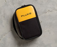 Fluke,C35,Fluke® C35 Soft Carrying Case, 8-1/2 in H x 5-1/2 in W x 2-1/2 in D, 600D Polyester