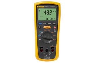 Fluke,FLUKE-1507,Fluke® FL1507 Insulation Resistance Tester, 600 VAC/VDC, 20 kOhm, +/-(1.5% + 3) Accuracy, CAT IV 600 V
