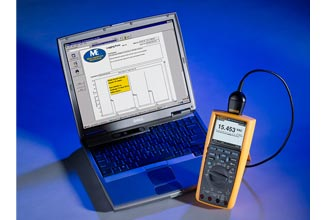 Fluke,FLUKE-289/FVF,Fluke® FLUKE-289/FVF Digital Multimeter Kit With Software, 7 Pieces