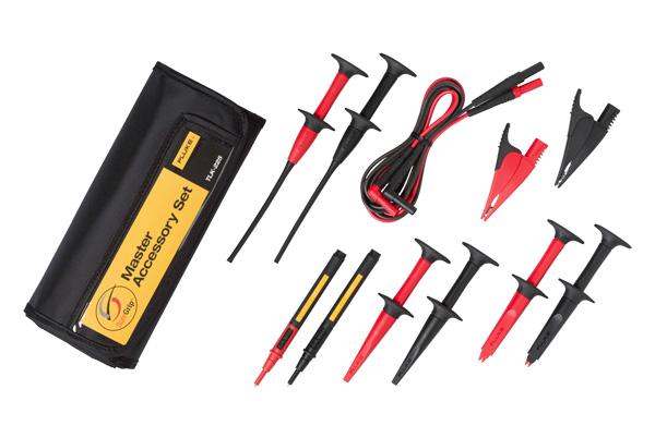 Fluke,TLK-225,Fluke® SureGrip™ TLK225 Master Accessory Set, 13 Pieces, For Use With Electrical Testers