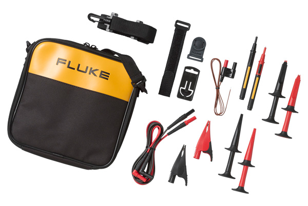 Fluke,TLK289,Fluke® SureGrip™ TLK289 Industrial Master Test Lead Set, 8 Pieces, For Use With Electrical Testers