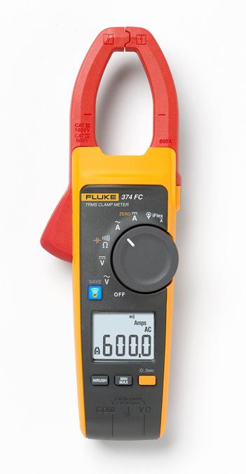 FLUKE-374-FC FLUKE 600A AC/DC TRMS WIRELESS CLAMP 4696001