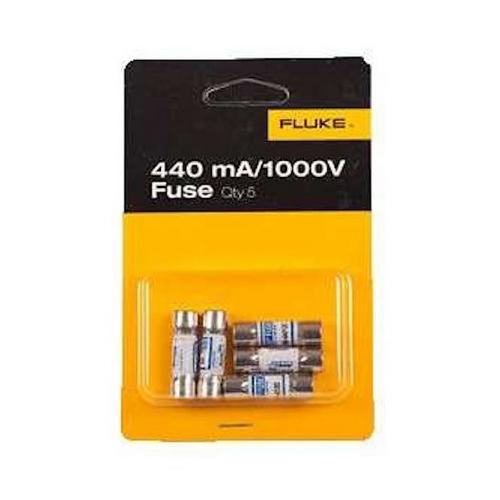 Fluke FUSE-440MA/1000VB5 1000 Volt 0.44 mA Meter/Tester Fuse