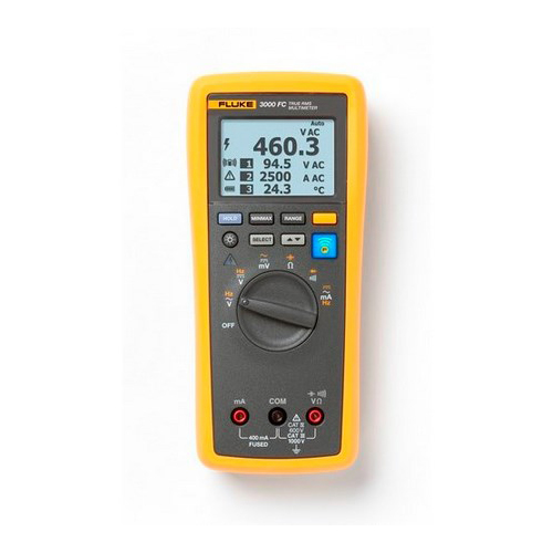 Fluke FLK-3000FC 1000 VAC/VDC Wireless Multimeter
