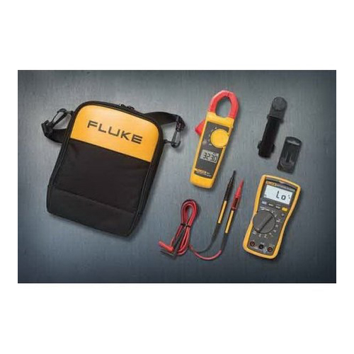 Fluke FLUKE-117/323 KIT 600 VAC/VDC 10 Amp Electrician Multimeter Combination Kit